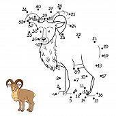 picture of goat horns  - Game for children - JPG