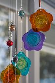 Hanging Glass Decoration