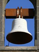 White Church Bell