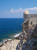 Castle Fortezza And Sea