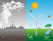 The advantage of renewable energy