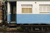 An Abandoned Train's Bogie