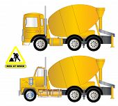 Vector Cement Truck A.eps
