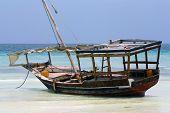 Zanzibar, Nungwi: boat