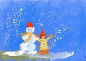 The Snowman And The Child