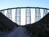 El viaducto de Polvorillo, San Antonio De Los Cobres, Salta, Argentina