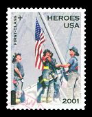 Usa 2002 Stamp Heroes Of September 11, 2001