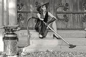Bored Sexy Housekeeper