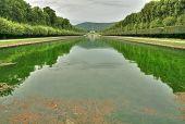 Caserta royal palace park, Italy