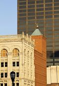 Old And New Buildings In Downtown Louisville