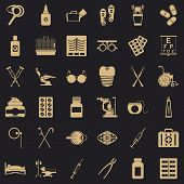 Whole Icons Set. Simple Set Of 36 Whole Vector Icons For Web For Any Design poster