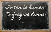 foto of divine  - handwriting blackboard writings  - JPG