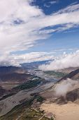 Aerial Photo Of Lhasa