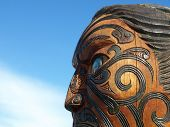 Traditional Maori Carving