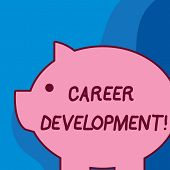 Conceptual Hand Writing Showing Career Development. Business Photo Text Lifelong Learning Improving  poster