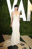 LOS ANGELES - FEB 26:  Rooney Mara arrives at the 2012 Vanity Fair Oscar Party  at the Sunset Tower