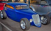 Classic Street Rod at Show