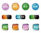 Web Badges And Web 2.0 Elements