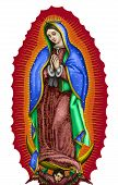 Lady Of Guadalupe Mexico Saint Holy Faith Illustration Religious Culture poster