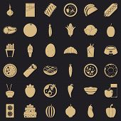 Nutritional Value Icons Set. Simple Set Of 36 Nutritional Value Vector Icons For Web For Any Design poster