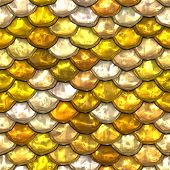 picture of gold glitter  - Background illustration of stacked gold and silver coins - JPG