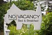 Vacancy At Bed And Breakfast