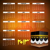 picture of kaba  - Islamic Calender 2013 - JPG