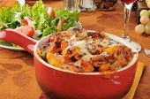 Three Meat Pasta Bake