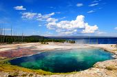 Abyss pool, Yellowstone NP
