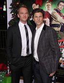 LOS ANGELES - NOV 02:  Neil Patrick Harris & David Burtka arriving to