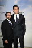 LOS ANGELES - DEC 6:  Mike Sablone, John Krasinski arrive at the 'Promised Land' Premiere at Directo
