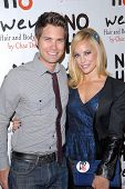 LOS ANGELES - DEC 12:  Drew Seeley, Amy Paffrath arrive to the NOH8 4th Anniversary Party at Avalon