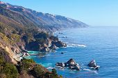 Постер, плакат: С видом на океан в Калифорнии