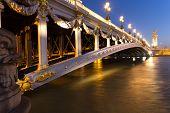 Pont Alexandre Bridge iii, Paris