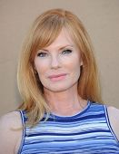 LOS ANGELES - AUG 04:  Marg Helgenberger arrives to CBS Showtime CW All Star Winter TCA Party 2013