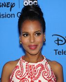 LOS ANGELES - AUG 04:  Kerry Washington arrives to ABC All Star Summer TCA Party 2013  on August 04, 2013 in Beverly Hills, CA