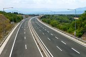 picture of twisty  - Empty highway view - JPG