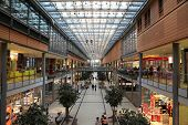 Potsdamer Platz Arkaden Shopping Mall In Berlin