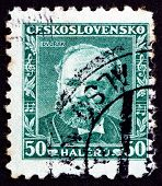 Postage Stamp Czechoslovakia 1934 Antonin Dvorak, Composer