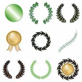 Nine Wreaths And Awards