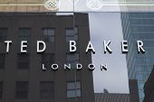 Ted Baker Company Sign
