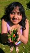 Offering Chillies