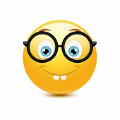 Nerd emoticon