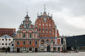 The Building Of The Brotherhood Of Blackheads, Riga
