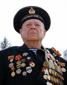 Russian Sailor Veteran Of Wwii