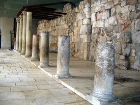 picture of cardo  - Ancient Roman Cardo street - JPG