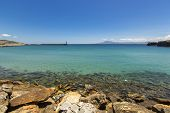 image of tarifa  - Beach landscape in the city of Tarifa, Spain.