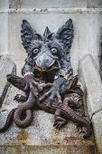 picture of gargoyles  - devil figure - JPG