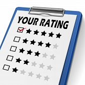 Your Rating Clipboard