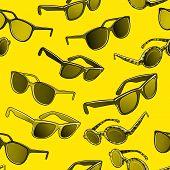 Retro sun glasses summer, plastic, lens, color, stylish, optical, accessory